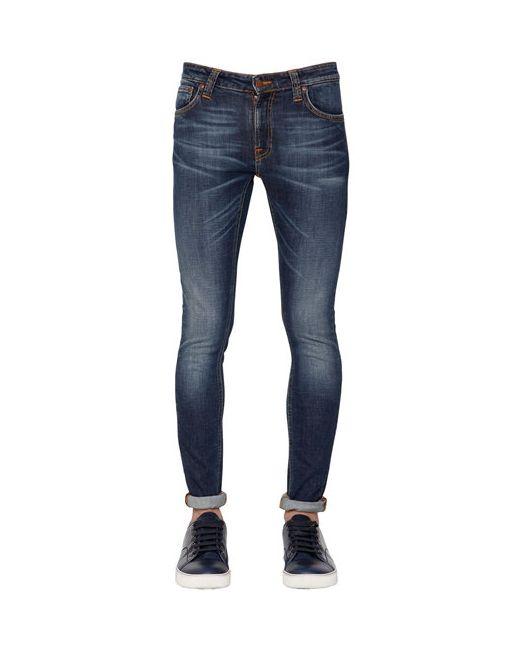 Nudie Jeans Co | Мужские Джинсы Скинни Lin Brut Из Деним 16.5cm