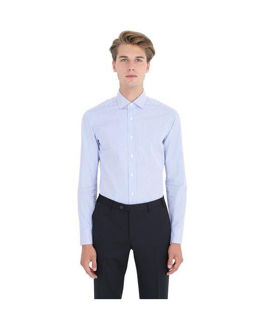 SALVATORE PICCOLO   Мужская Рубашка Из Хлопка В Полоску
