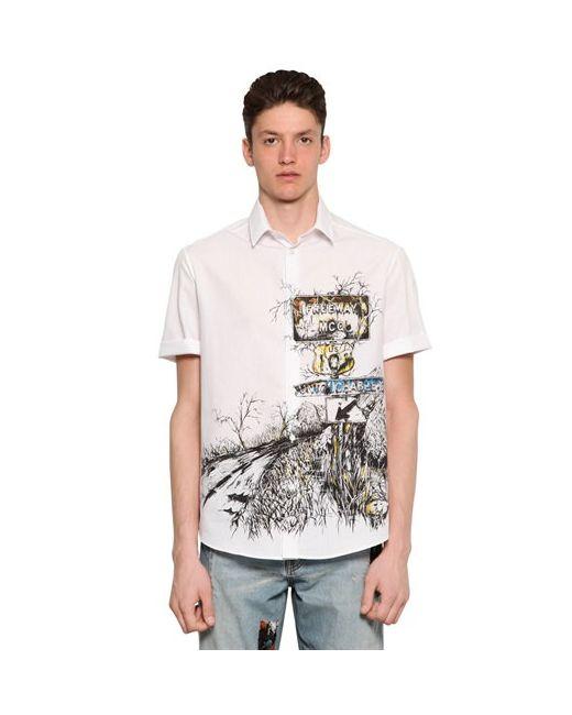 Mcq Alexander Mcqueen | Мужская Рубашка Из Хлопка Канвас