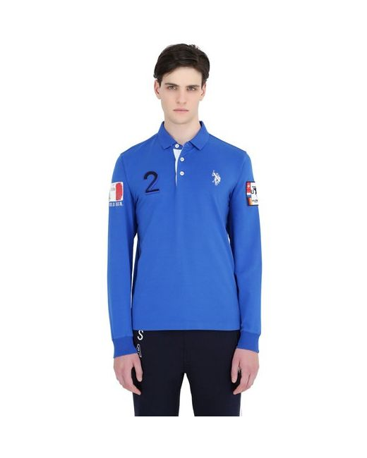 U.S. Polo Assn. | Мужское U.S.Polo Assn. Поло Rome Team Из Хлопкового