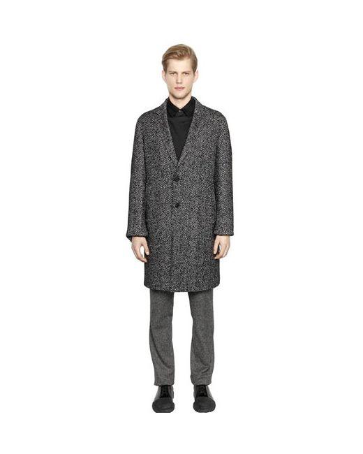 Wooyoungmi | Мужское Пальто Из Смески Шёлка И Шерсти