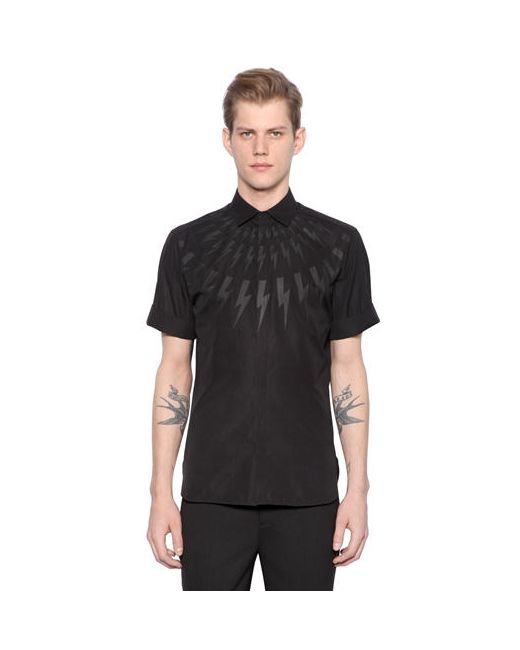Neil Barrett | Мужская Рубашка Из Хлопкового Поплин