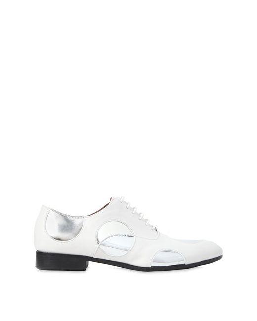 Marni | Женские Кожаные Туфли Pois На Шнуровке 10mm