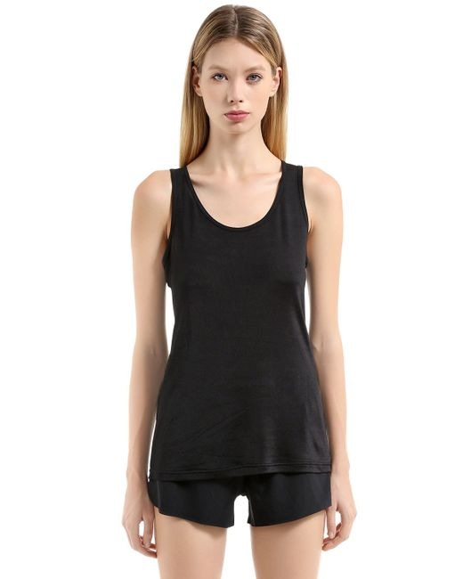 Nike | Женская Чёрная Майка Nikelab Essentials