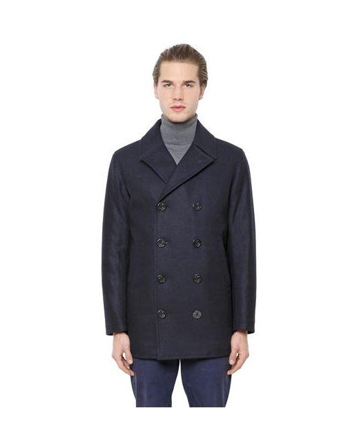 Brooks Brothers | Мужское Двубортное Шерстяное Пальто