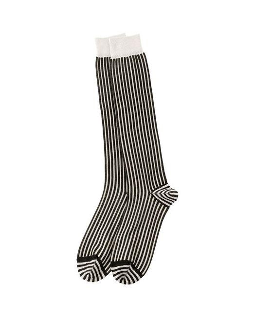 Haider Ackermann | Мужские Носки Из Тонкого Хлопкового Трикотажа В Полоску