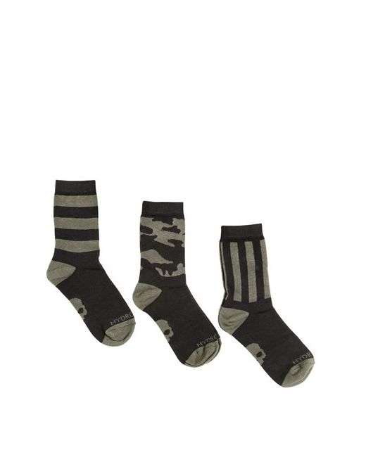 HYDROGEN KID | Зелёный Set Of 3 Knitted Cotton Socks