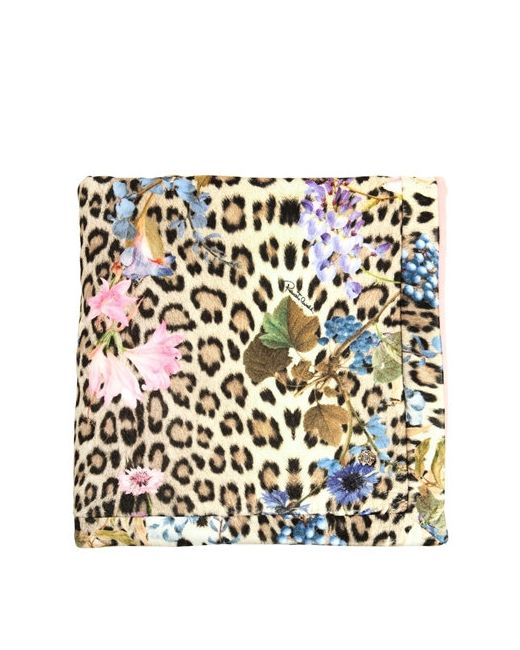 Roberto Cavalli | Многоцветный Printed Cotton Chenille Padded Blanket