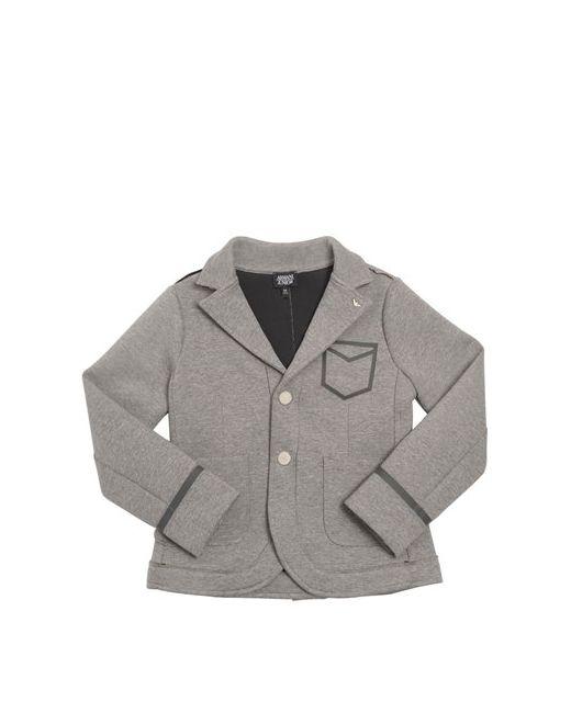 Armani Junior | Серый Cotton Jersey Neoprene Jacket