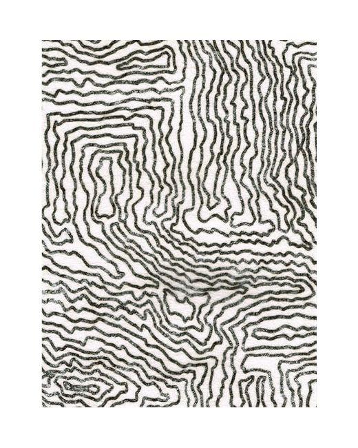 ZIGZAGZURICH | Чёрный Coopdps Earth Fleece Wallpaper
