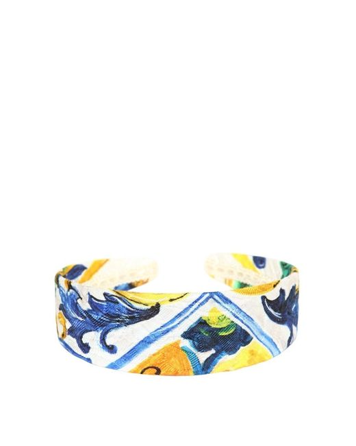Dolce & Gabbana | Многоцветный Maiolica Printed Brocade Headband