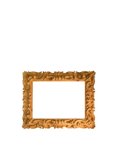 BOTTEGA D'ARTE MASELLI | Sand Hand Carved Solid Wood Frame