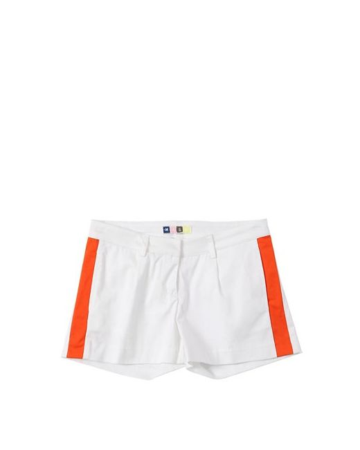 MSGM | Оранжевый Cotton Sateen Chino Shorts