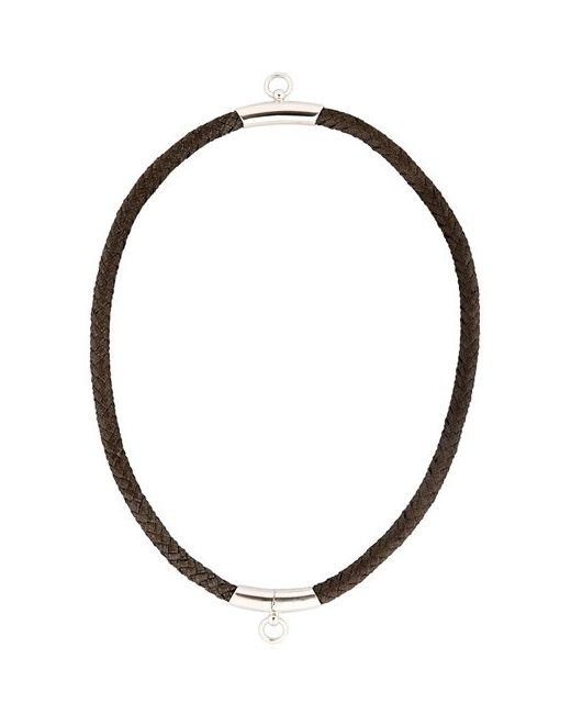 BETONY VERNON | Чёрный Noble Rope Choker For Lvr