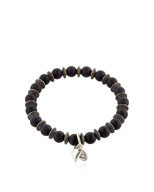 BOOTLEGGERS | Чёрный Onyx Beaded Bracelet