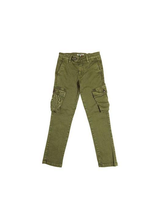 NUPKEET   Зелёный Stretch Cotton Gabardine Cargo Pants