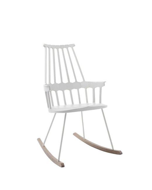 Kartell   Белый Comeback Rocking Chair