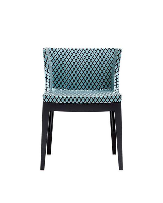 Kartell | Чёрный Mademoiselle Memphis Rete Chair