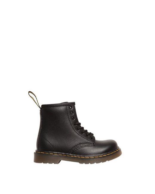 Dr. Martens   Чёрный Faux Leather Boots