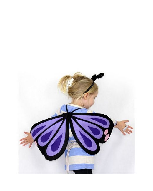 SPARROW & B | Чёрный Butterfly Wings Hair Band Costume Set