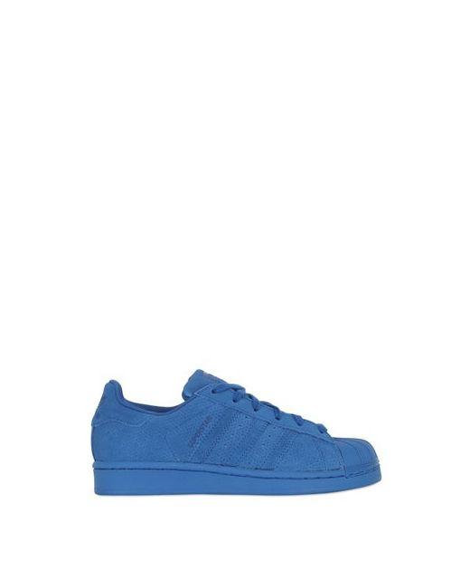 adidas Originals | Синий Superstar Supercolor Leather Sneakers