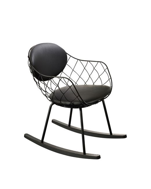 MAGIS | Чёрный Piña Rocking Chair