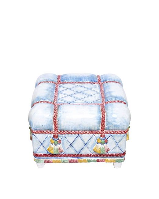 CERAMICHE PUGI | Многоцветный 1001 Nights Cushions Ceramic Ottoman