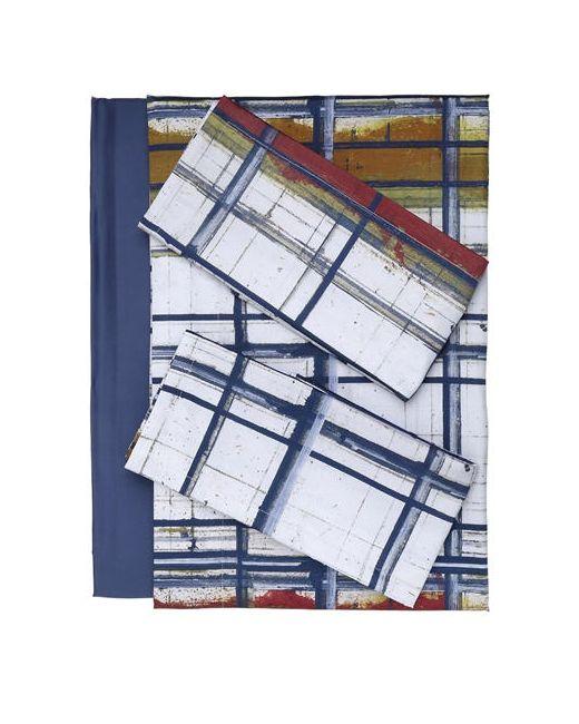 Trussardi   Многоцветный Paint Collection Cotton Sheet Set