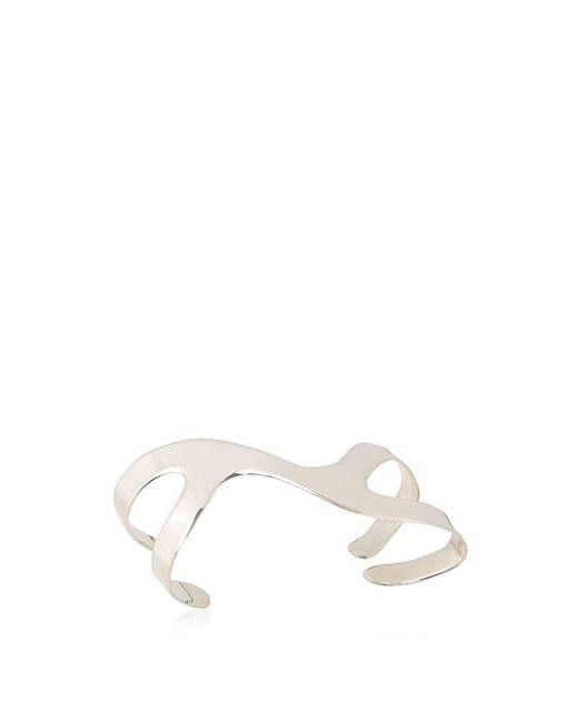 MAXIME LLORENS   Серебристый Kinesis Right Hand Bracelet