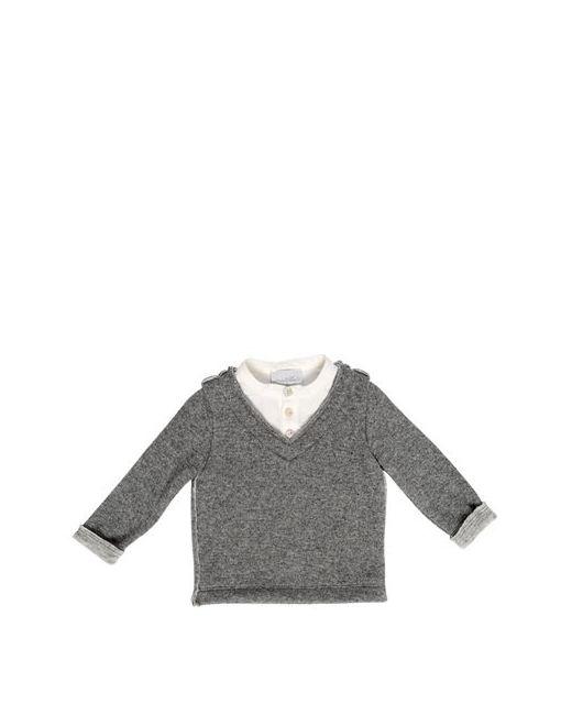 Così Com'È | Серый Double Wool Knit Sweater