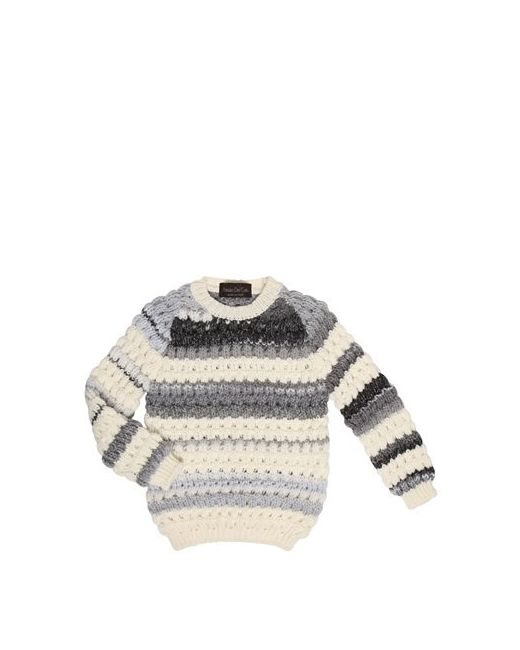 Fabrizio Del Carlo | Белый Tricot Virgin Wool Sweater
