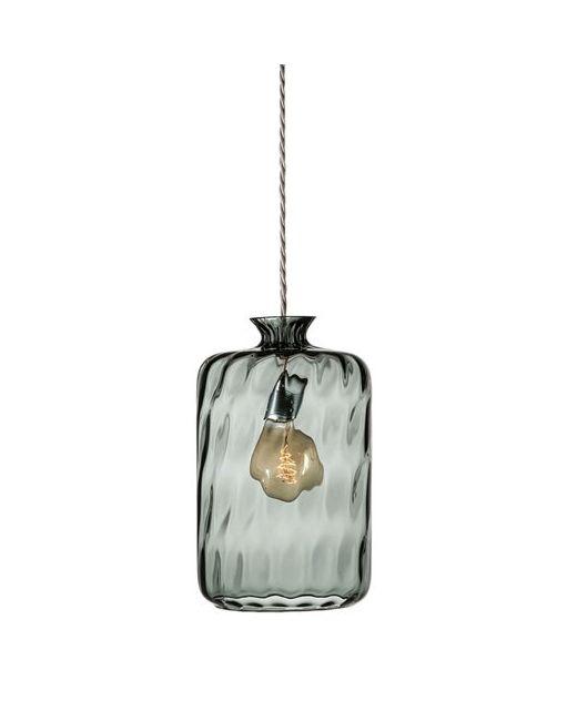 EBB & FLOW | Серый Pillar Glass Suspension Lamp