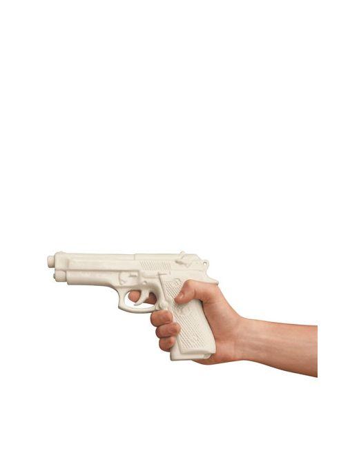 SELETTI   Белый My Gun Porcelain Object