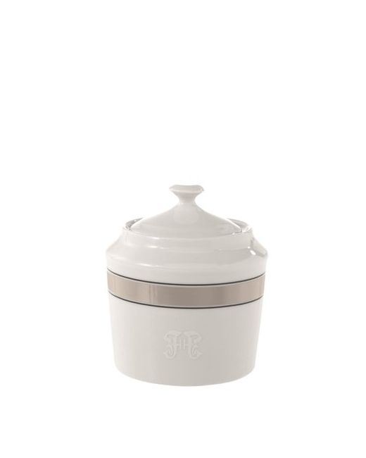 GIANFRANCO FERRÉ HOME | Белый Galles Porcelain Sugar Pot