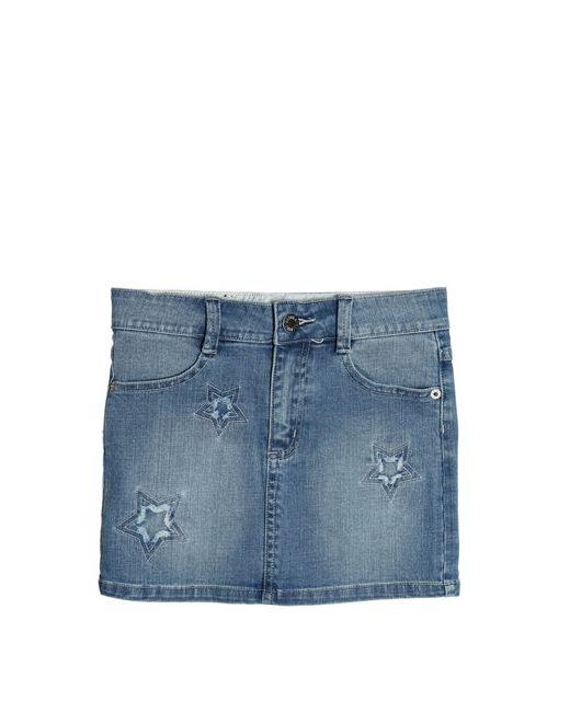 Zadig & Voltaire | Denim Embroidered Stretch Cotton Skirt