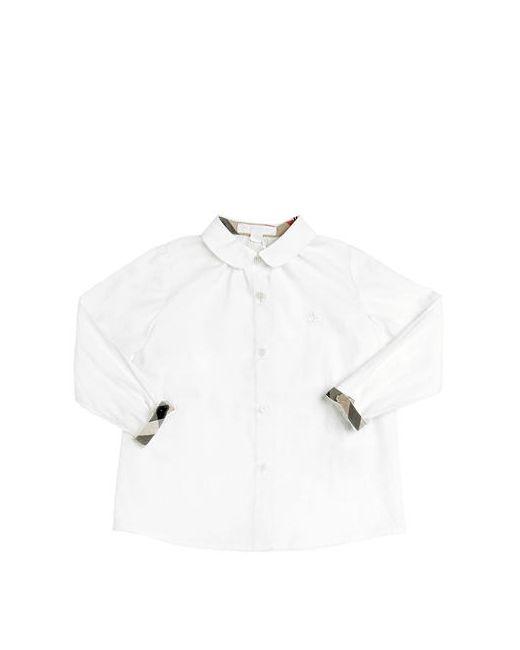 Burberry | Белый Stretch Cotton Poplin Shirt