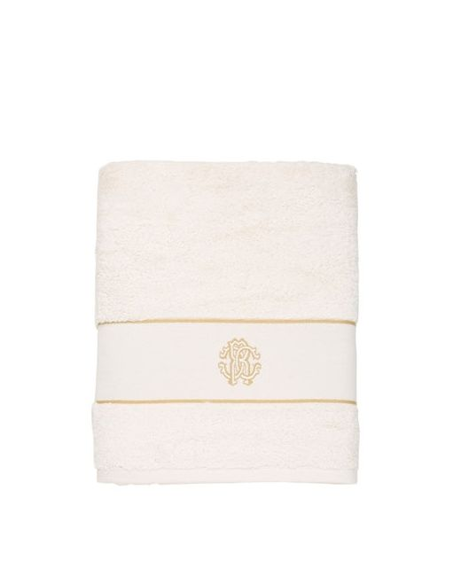 Roberto Cavalli | Белый Cotton Bath Towel
