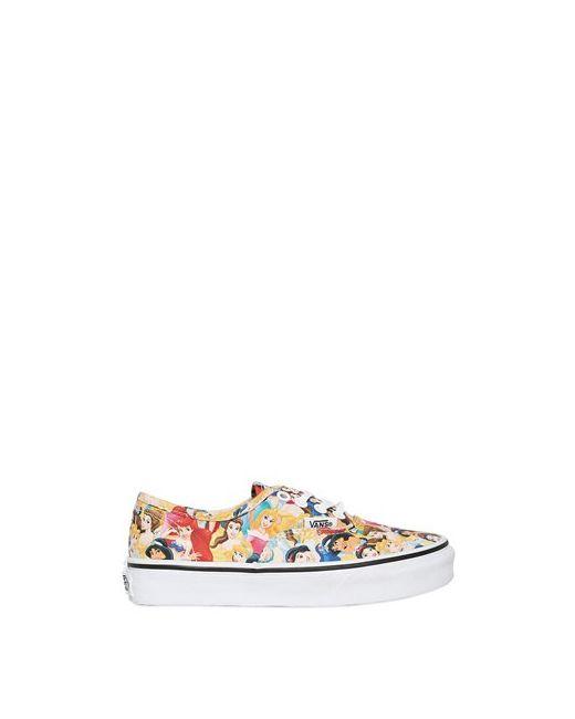 Vans   Multi Disney Princess Cotton Canvas Sneakers