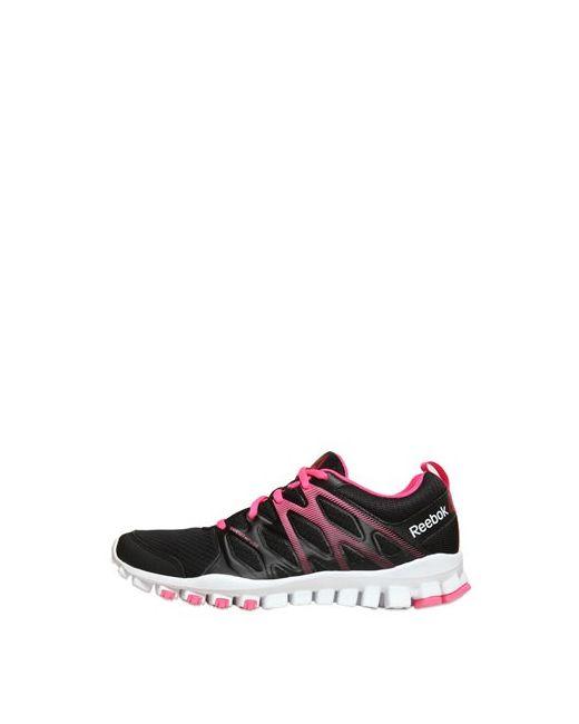 Reebok   Чёрный Realflex Train Mesh Running Sneakers