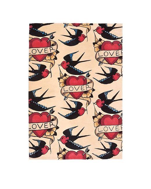 FLOOR_STORY   Бежевый Lover Hand-Knotted Wool Rug