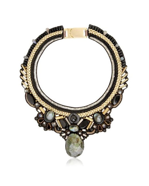 Ranjana Khan | Золотой Fall Winter Collection Necklace