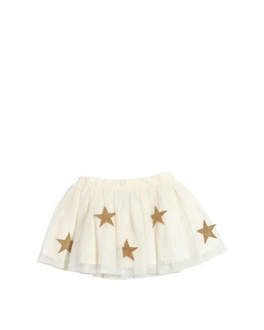 Stella Mccartney | Белый Gathered Tulle Skirt W/ Star Patches