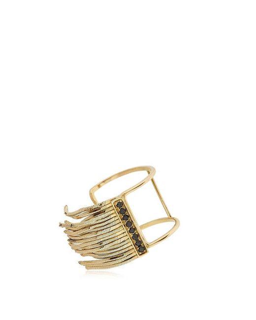 IOSSELLIANI FINE JEWELRY | Золотой Gold Fringe Ring