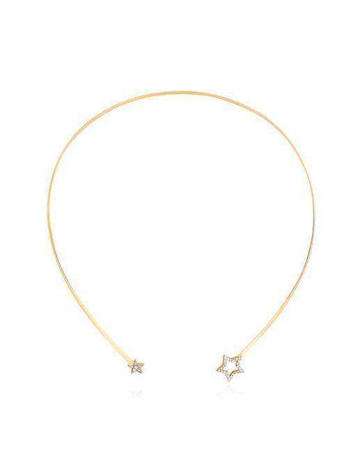 PERLOTA   Золотой Starlight Choker Necklace