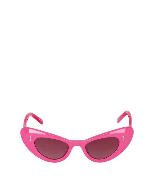 SONS+DAUGHTERS EYEWEAR | Fuchsia Handmade Acetate Sunglasses Size 5/7y