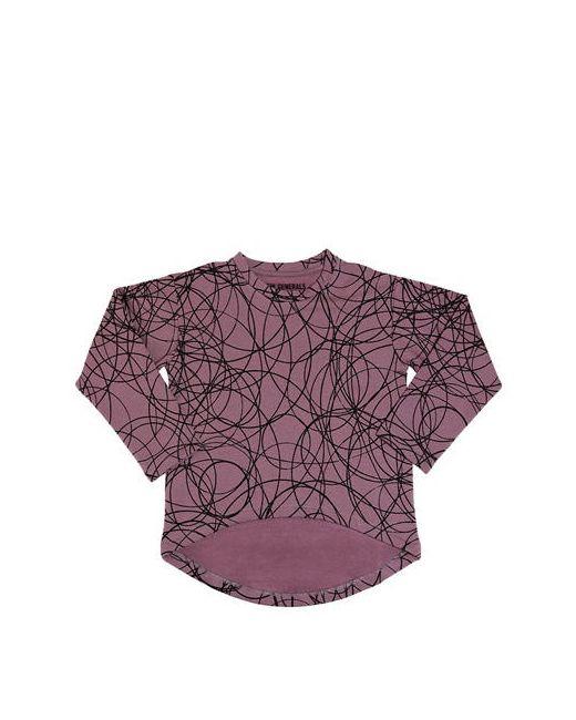 New Generals   Чёрный Asymmetric Organic Cotton Sweatshirt