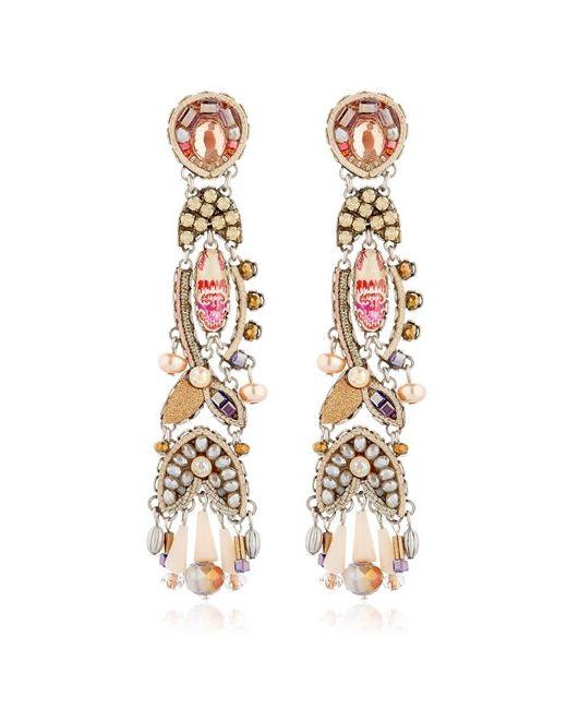 AYALA BAR | Золотой Dune Paisley Earrings