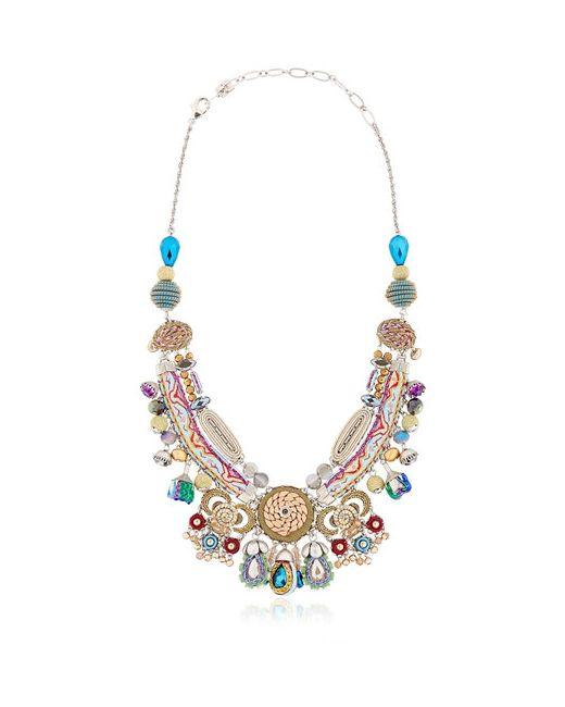 AYALA BAR   Многоцветный Golden Dawan Necklace