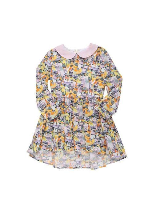 PAADE   Многоцветный Animal Printed Cotton Poplin Dress