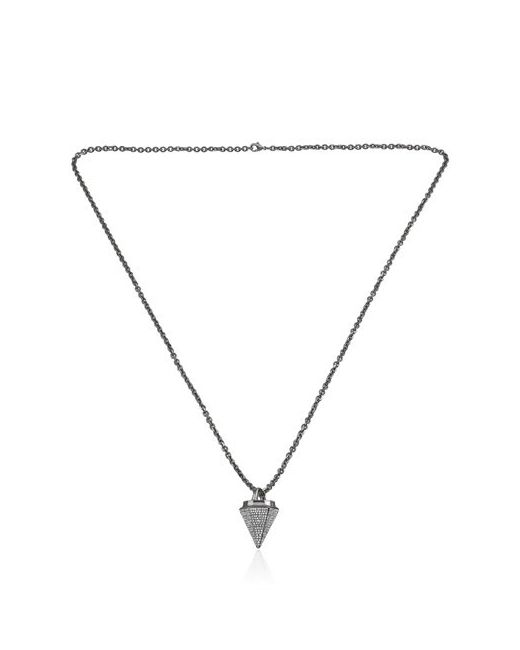 VITA FEDE | Чёрный Thea Full Pave Necklace